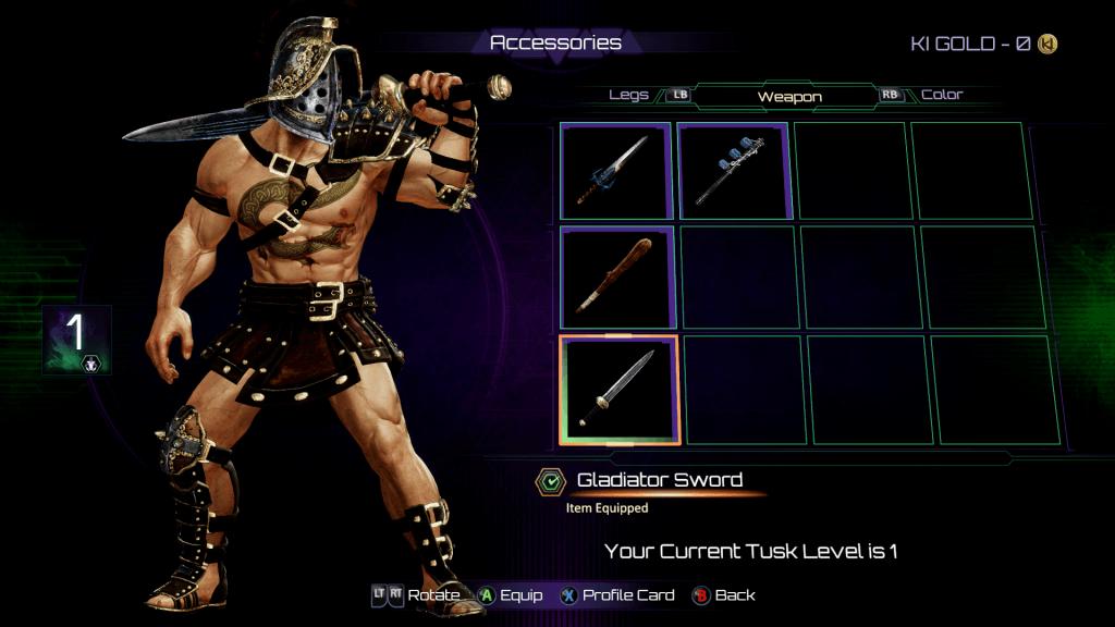 Retro Gladiator